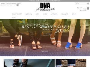 DNA Footwear website