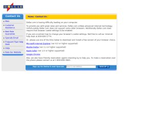 DOLLAR website