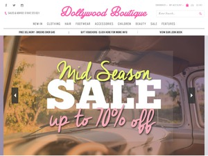 Dollywood Boutique website