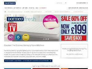 Dormeo UK website