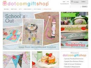 Dotcomgiftshop website
