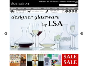 Dotmaison website