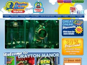Drayton Manor website