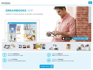 DreamBooks website