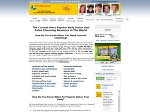 DrNatura website