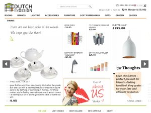 Dutch By Design website