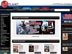 DVD Planet website