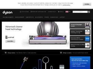 Dyson website