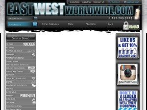 EastWestWorldwide website