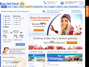EasyClickTravel website