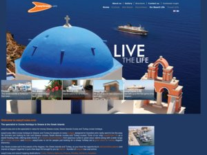 EasyCruise website