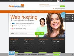 Easyspace website