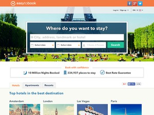 EasyToBook website