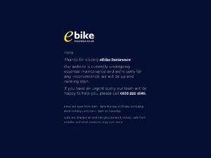 eBike Insurance UK website