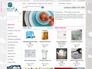 EcoCentric website