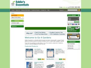 Eddies Essentials website