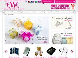 The Edinburgh Wedding Company website