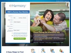 New vouchers for eHarmony