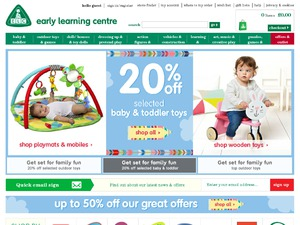 Early Learning Centre (ELC) website