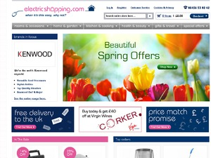 Electric Shopping website