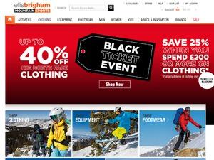 Ellis Brigham website