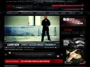 Ellusionist website