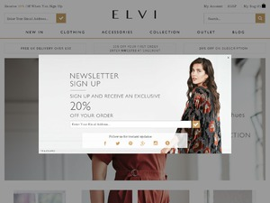 Elvi website