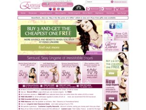 Ennia Lingerie website