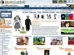 Entertainment Earth website