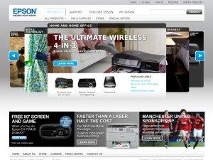 Epson website