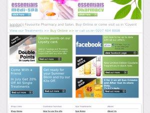 Essentials London website