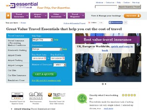 Essential Travel website