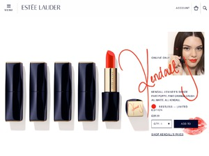 Estée Lauder website