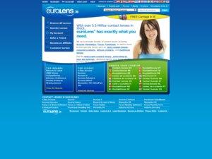euroLens Europe website
