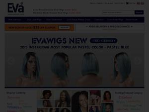 EvaWigs website