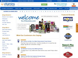 eVitamins website