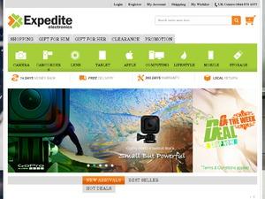 Expedite Electronics website