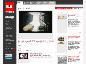 Eyestorm website