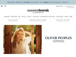Eyewearbrands.com website