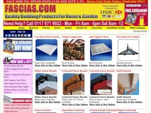 Fascias.com website