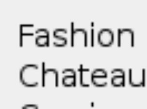 Fashion Chateau website