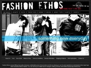 Fashion Ethos website