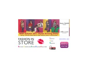 Fashion In Store website