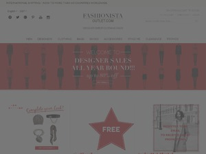 Fashionista Outlet website