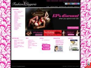 Fashion Lingerie website