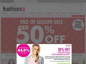 Fashion World website