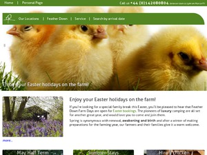 Featherdown website