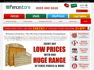 Fencestore website