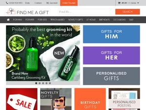 Find Me A Gift website