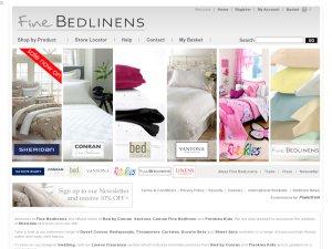 Fine Bedlinens website